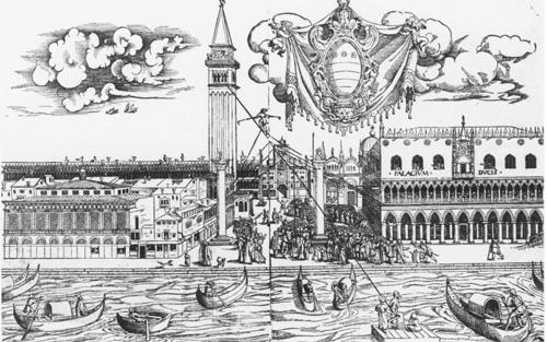 Jacopo Sansovino, Giacomo Torelli, and the Theatricality of the