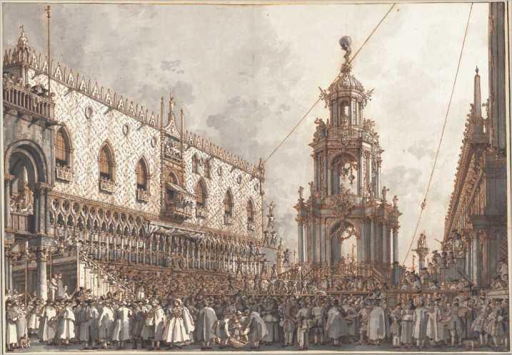 Canaletto-La-festa-del-Giovedì-Grasso-1763-1766